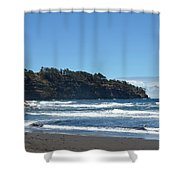 North Kona Coastline 1 Shower Curtain