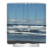 North Kona Coastline 3 Shower Curtain