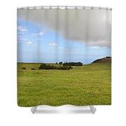 North Kona Greenscape Shower Curtain