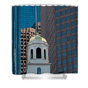 North Meeting Place And Echange Place Shower Curtain