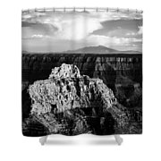 North Rim Shower Curtain