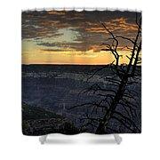 North Rim Dawn Shower Curtain