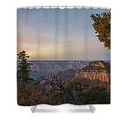 North Rim Sunrise 1 - Grand Canyon National Park - Arizona Shower Curtain