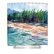 North Shore Beach 2 Shower Curtain