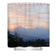 North Shore Haze Shower Curtain