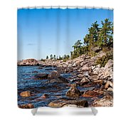 North Shore Of Lake Superior Shower Curtain