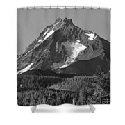 105615-north Sister Or,bw Shower Curtain