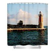 North Sound Beacon Shower Curtain