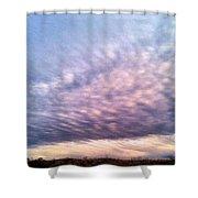 North Texas Sky Shower Curtain