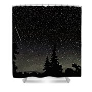 North Woods Shower Curtain