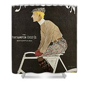 Northampton Cycle 1899 Shower Curtain