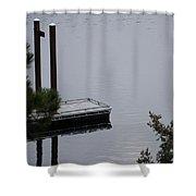 Northern Idaho Winter Shower Curtain