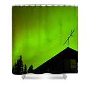 Northern Lights - Aurora Borealis - Substorm Shower Curtain