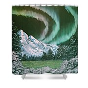 Northern Lights - Alaska Shower Curtain