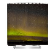 Northern Lights And Myriad Of Stars Shower Curtain