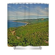 Northern Road Through Cape Breton Highlands Np-ns Shower Curtain
