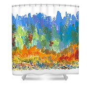 Northern Shore Shower Curtain
