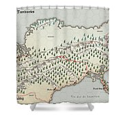 Northern Territories Shower Curtain
