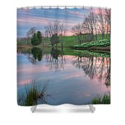 Northfield Daffodils Sunset Shower Curtain