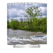 Northrup Road Waterfalls 2158 Shower Curtain