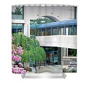 Northside Alpharetta Medical Campus A . First View Shower Curtain