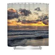 Northumbrian Coast Shower Curtain