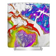 Northwest Passage Shower Curtain