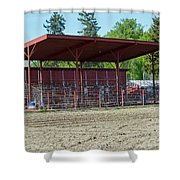 Northwest Rodeo Time Shower Curtain