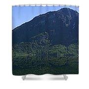 Norwegian Countryside Panorama Shower Curtain
