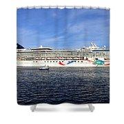 Norwegian Dawn Shower Curtain