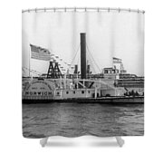 Norwich Steamboat, C1909 Shower Curtain