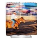 Norwood Colorado - Cowboys Ride Shower Curtain
