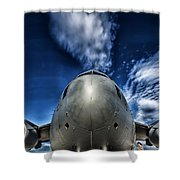 Nose Of A C-17 Shower Curtain