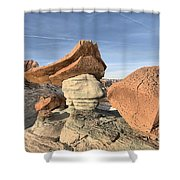 Nose To The Grindstone Shower Curtain
