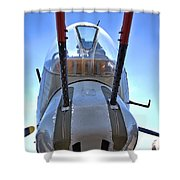 Nose Turret Shower Curtain