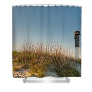 Not A Cloud In The Sky Shower Curtain