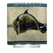 Not A Dolphin Shower Curtain