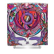 Not Fade Away Shower Curtain by Kevin J Cooper Artwork