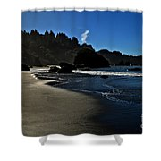Not For Surfing Shower Curtain