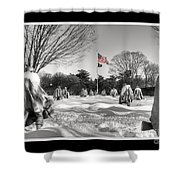 Not Forgotten Shower Curtain