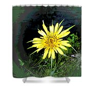 Not Just A Weed Shower Curtain