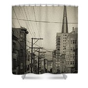 Not So Old San Francisco Shower Curtain