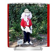 Not So Scary Junior Miss Scarecrow Shower Curtain