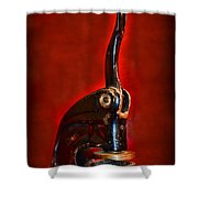 Notary Public Vintage Seal Shower Curtain