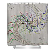Noted Patterns Shower Curtain