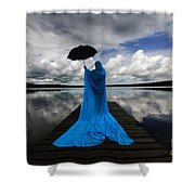 Nothing Is Ours But Time  Shower Curtain