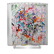 Nothing Left But Prayer Shower Curtain