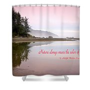 Nothing Like An Early Morning On The Oregon Coast  Shower Curtain