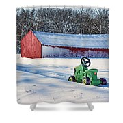 Nothing Runs Like A Deere #1 Shower Curtain
