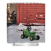 Nothing Runs Like A Deere #4 Shower Curtain